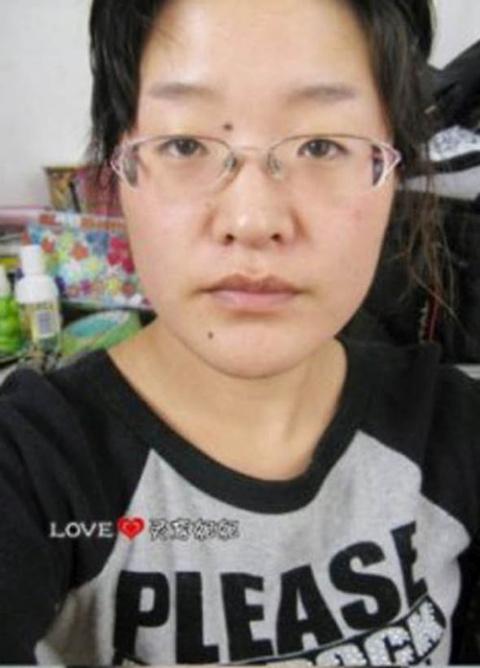 Невероятное преображение азиатки при помощи макияжа