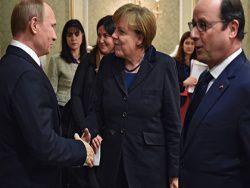 Меркель допустила, что Крым останется российским