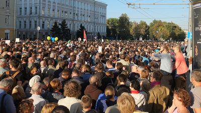 Оппозиция подала заявку на проведение акции 19 апреля