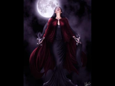 Не злите ведьму никогда!