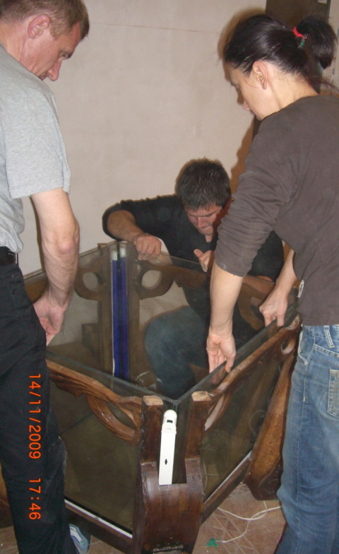 стол аквариум