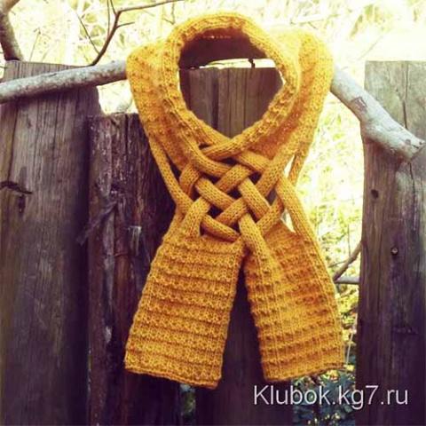 И шарф, и украшение