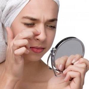 Секреты красоты. Как избавиться от чёрных точек на лице