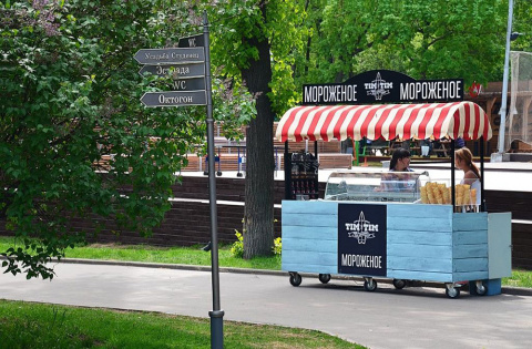 В Москве выпустили мороженое для серферов