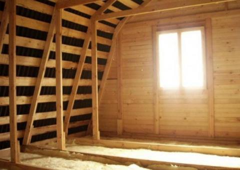 Утепляем потолок: тепло зимо…