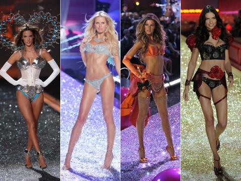 Самые красивые «ангелы» Victoria's Secret за 20 лет существования модной марки