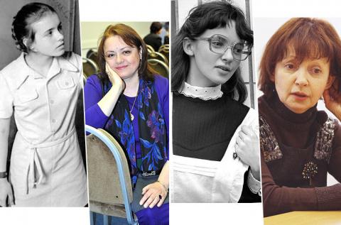 Гостьи из прошлого: какими выросли школьницы из советского кино