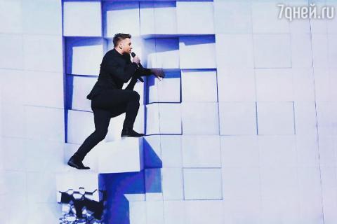 Победительница «Евровидения»…