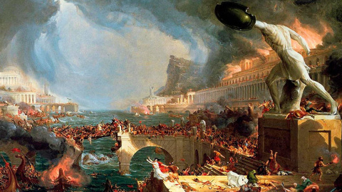 Причины падения Римской империи