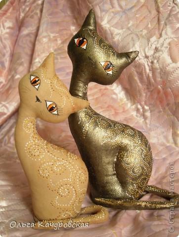 Изумительные кофейные кошечки от Ольги Качуровской. Мастер-класс