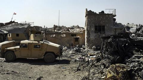 Ирак потерял 20 тысяч военных при освобождении Мосула