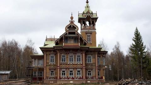 Дом Сазонова д. Осташево