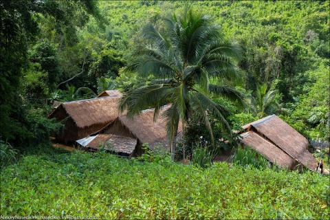 Мьянма. Деревенский быт племени Мон