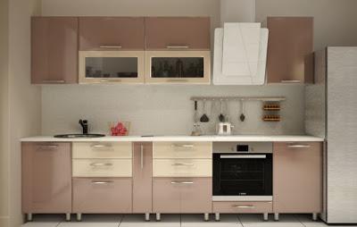 Материалы для кухни: фасады …
