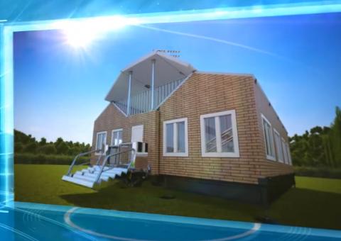 Новая концепция мобильного дома-трансформера !