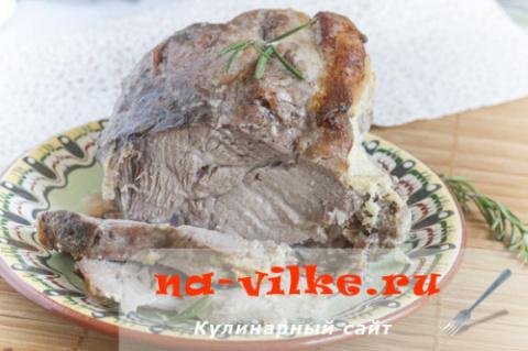 Свинина, запеченная в молоке - удивительно сочно и вкусно, очень ароматно