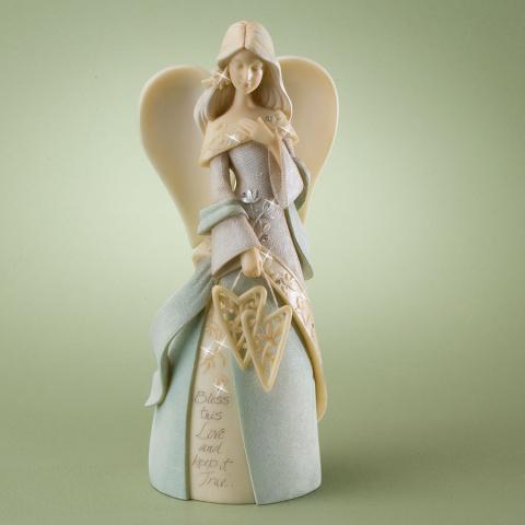 Светлые ангелы в сад прилетели, керамика от Karen Hahn