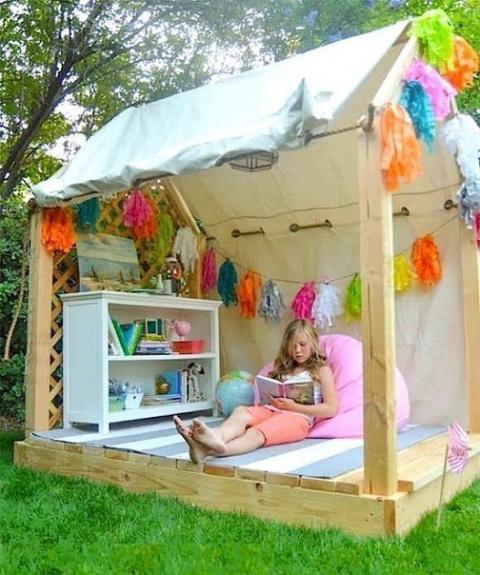 Детский летний домик