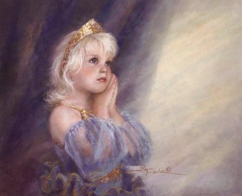 Безграничная любовь к детям в картинах Kathy Fincher