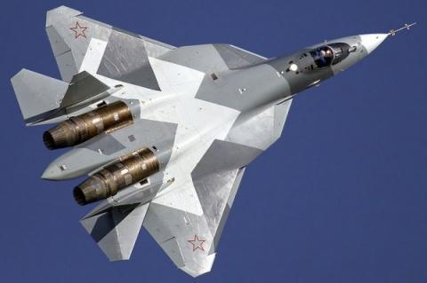 В воздух поднялся новый истребитель ПАК ФА