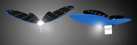 Прищепки на солнечных батареях