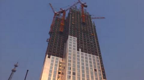 Как строят китайцы: 57-этажн…