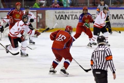 Хоккеисты сборной России обыграли Канаду в финале Сурдлимпиады
