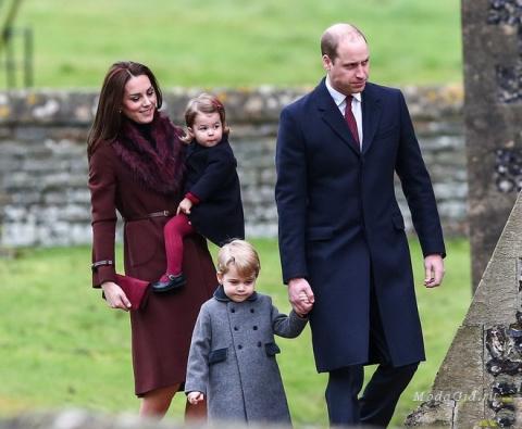 Модные дети: стиль принца Джорджа и принцессы Шарлотты