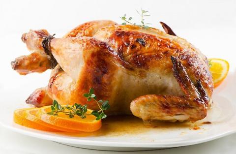 Курица гриль в домашних условиях.