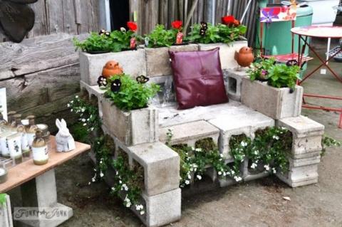 10 крутых идей для дачной мебели