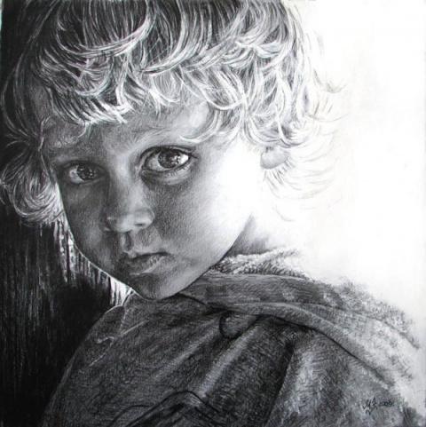 Рисунки карандашом, Maria Zeldis