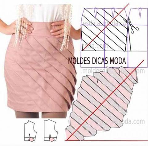 Выкройки разных юбок