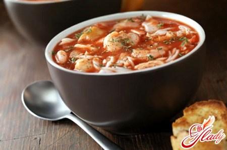 Томатный суп: тонкости приготовления вкусного первого блюда