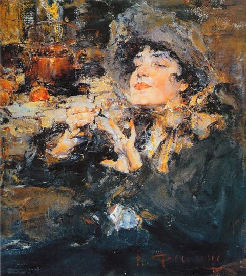 Художник двух континентов. Фешин Николай Иванович (1881 — 1955 г.г.).
