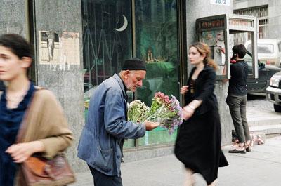 Старик и цветы