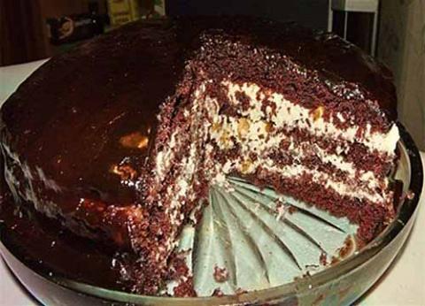 торт прага по старинному рецепту