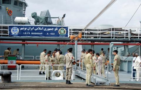 Два иранских военных корабля…