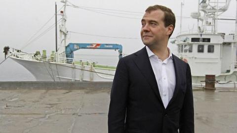 Медведев: Нас перекормили в советские времена минтаем