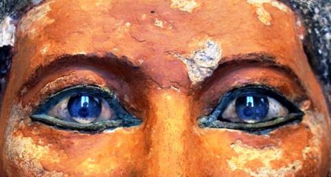 Смотрящие в вечность. Откуда взялись линзы в глазах фараонов Древнего Египта?