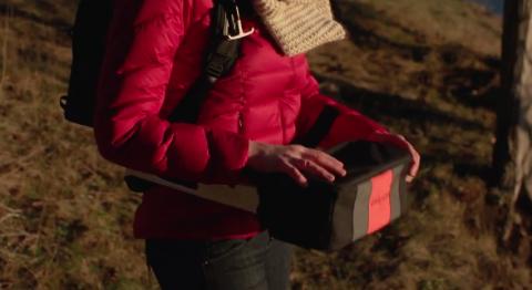 Рюкзак, который не нужно снимать, чтобы достать свои вещи