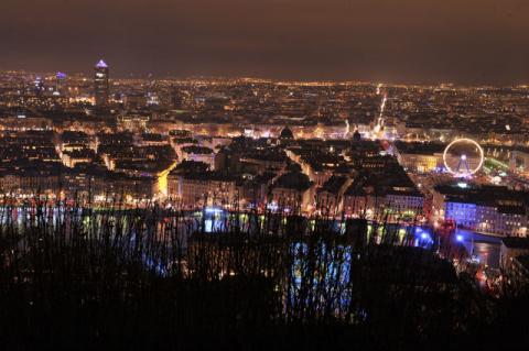 Фестиваль света в Лионе 2012…
