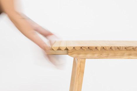 Деревянная скатерть для стола