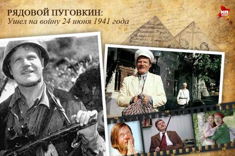 К 70-летию Победы. Актеры, прошедшие войну. Ч.5