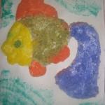 Рисунки из соли