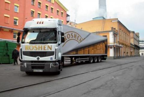 ROSHEN первым прорвал блокаду Крыма