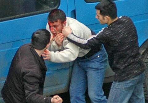 Массовая драка в Подмосковье: беженцы с Донбасса и таджики против гостей с западенщины