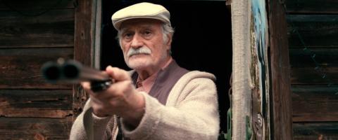 Старик с ружьем стрелял по детям