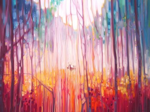 Психоделическая живопись художницы Gill Bustamante