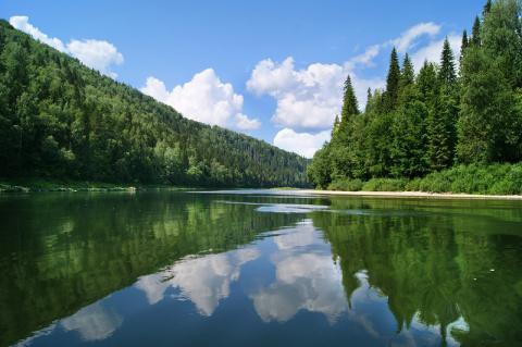 Хрустальные уральские реки и озера
