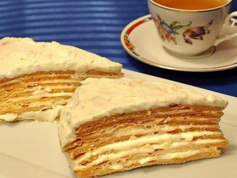 Десертный вихрь. Торт «Парижский коктейль»